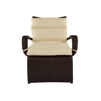 Halo Lounge Chair with Cushion by Summer Classics