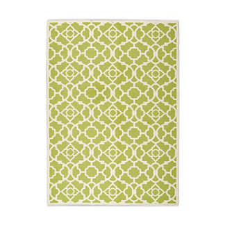 Lovely Lattice Outdoor Rug