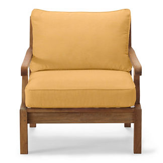 Replacement Seating Cushions in Sunbrella Wheat