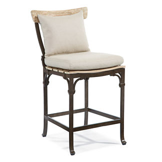 Maison Jardin Bar Stool with Cushion