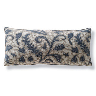 Laguna Beaded Outdoor Lumbar Pillow