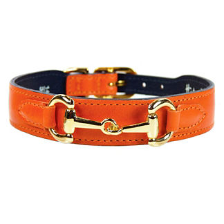 Hartman and Rose Links Dog Collar