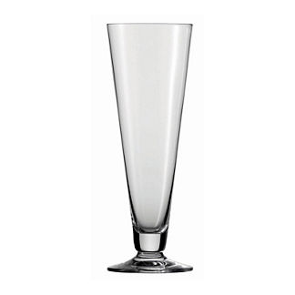 Set of Six Schott Zwiesel Footed Pilsner Beer Glasses