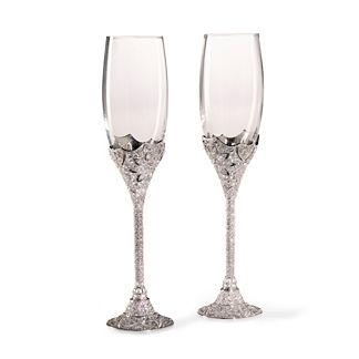 Olivia Riegel Windsor Champagne Flutes, Set of Two