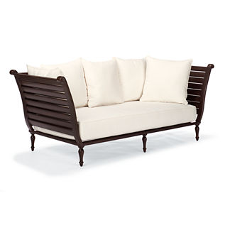 British Colonial Daybed with Cushions, Special Order
