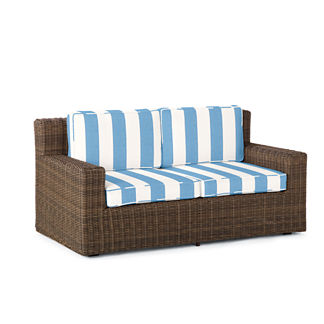 Hyde Park Loveseat with Cushions