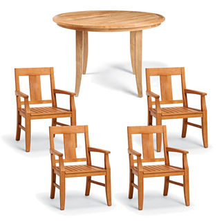 Melbourne 5-pc. Round Dining Set