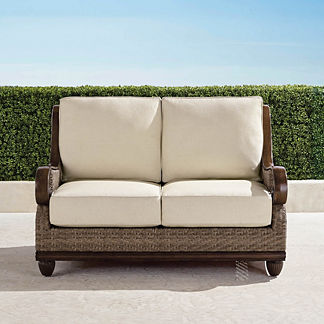 St. Martin Loveseat with Cushions, Special Order