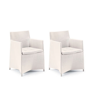 Modello Set of Two Dining Arm Chairs