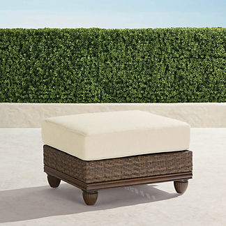 St. Martin Ottoman with Cushion, Special Order