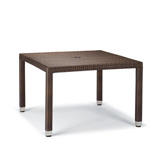 Palermo Square Dining Table in Bronze Finish
