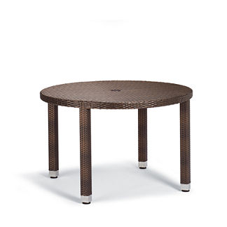 Palermo Round Dining Table in Bronze Finish