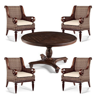St. Martin 5-pc. Round Dining Set