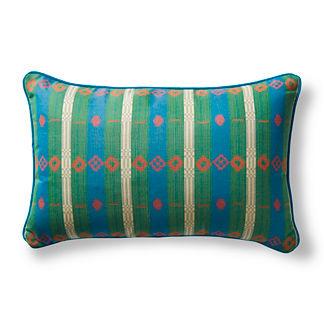 Peruvian Path Tropical Outdoor Pillow