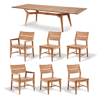 Peyton 7-pc. Rectangular Extending Dining Set