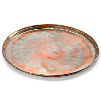Antique Copper Tray