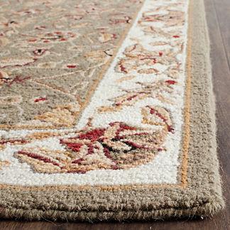 Aubrey Hand-hooked Wool Area Rug