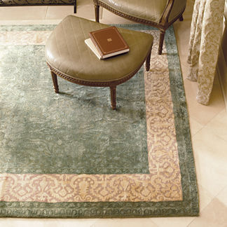 Silk Avenue Wool Area Rugs