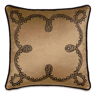 Spanish Blackwork Pillow
