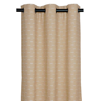 Marley Oatmeal Curtain Panel