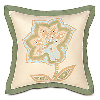 Southport Handpainted Pillow