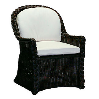 Sedona Dining Chair with Cushion by Summer Classics
