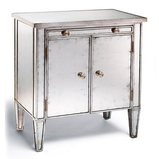 Specchio 2-door Night Stand