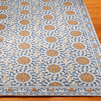Windflower Hand-hooked Wool Area Rug