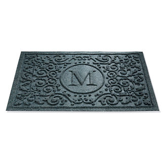 WATER & DIRT SHIELD ™ Mandalay Monogram Door Mat