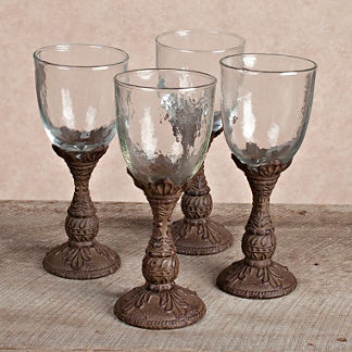 GG Collection Wine Glasses, Set of Four