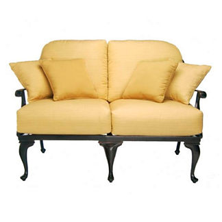 Provence Loveseat with Cushions by Summer Classics