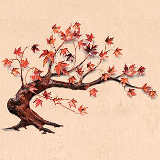 Wind Swept Maple Tree