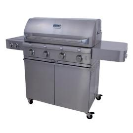 Saber 670 4-burner Gas Grill with Dual Side