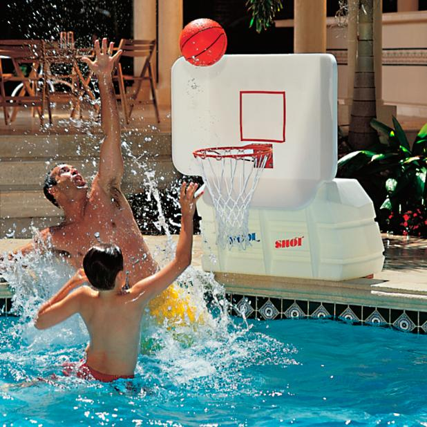Pool basketball hoops frontgate - Basketball goal for swimming pool ...