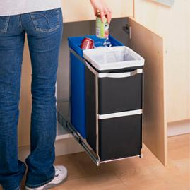 simplehuman® Pull Out Recycler
