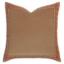 Greek Key Decorative Throw Pillow