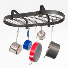 Enclume Low-ceiling Hanging Oval Cooking Rack