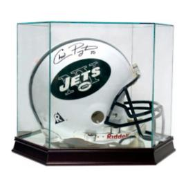 Glass Helmet Display Case