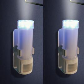 Set of Two Stick on Motion Sensor Lights