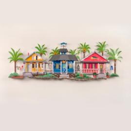 Caribbean Village Wall Art