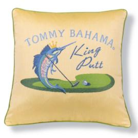 Tommy Bahama King Putt Sunbleach Designer Outdoor Pillow