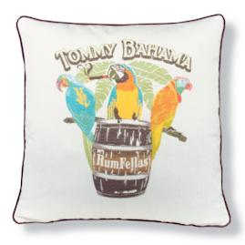 Tommy Bahama Rum Fellas Designer Outdoor Pillow