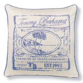 Tommy Bahama Designer Outdoor Pillow in Cobalt