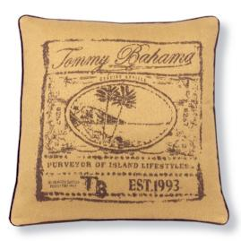 Tommy Bahama Designer Outdoor Pillow in Chocolate