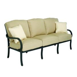 Somerset Sofa with Two Pillows and Cushions by