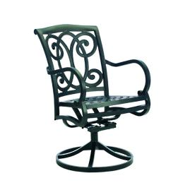 Somerset Dining Swivel Rocker with Cushion by Summer