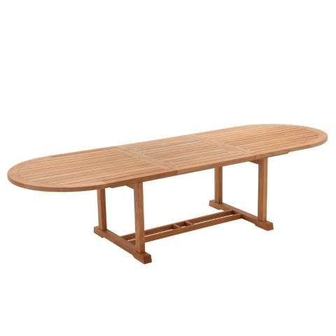 Bristol Large Oval Teak Extending Dining Table by Gloster. Bristol Teak Dining Collection by Gloster   Frontgate