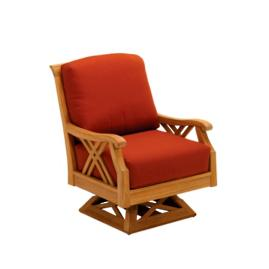 Halifax Swivel Rocker Lounge with Cushion