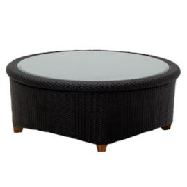 Plantation Sectional Round Coffee Table