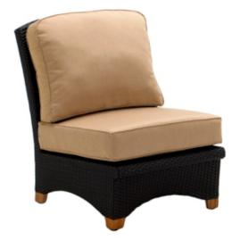 Plantation Center Chair with Cushions